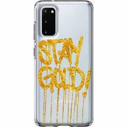 Etui na Samsung Galaxy S20 Plus - Stay Gold.