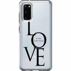 Etui na Samsung Galaxy S20 Plus - All you need is LOVE.