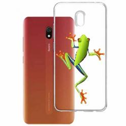 Etui na Xiaomi Redmi 8A - Zielona żabka.
