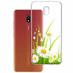 Etui na Xiaomi Redmi 8A - Polne stokrotki.