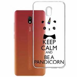 Etui na Xiaomi Redmi 8A - Keep Calm… Pandicorn.
