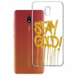 Etui na Xiaomi Redmi 8A - Stay Gold.