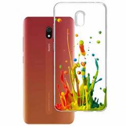 Etui na Xiaomi Redmi 8A - Kolorowy splash.