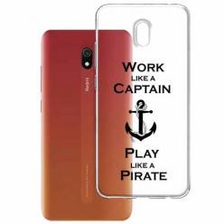 Etui na Xiaomi Redmi 8A - Work like a Captain…