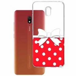 Etui na Xiaomi Redmi 8A - Gustowna kokardka.