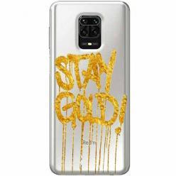 Etui na Xiaomi Redmi Note 9 Pro - Stay Gold.