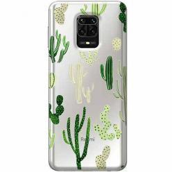 Etui na Xiaomi Redmi Note 9s - Kaktusowy ogród.