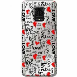 Etui na Xiaomi Redmi Note 9s - Love, love, love…