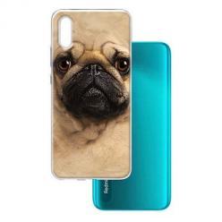 Etui na Xiaomi Redmi 9A - Pies Szczeniak face 3d