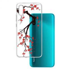 Etui na Xiaomi Redmi 9A - Krzew kwitnącej wiśni.