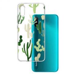 Etui na Xiaomi Redmi 9A - Kaktusowy ogród.