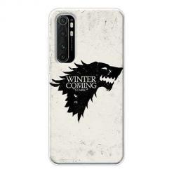 Etui na Xiaomi Mi Note 10 Lite - Winter is coming Black