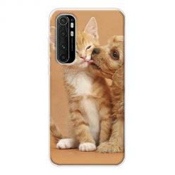 Etui na Xiaomi Mi Note 10 Lite - Jak pies z kotem