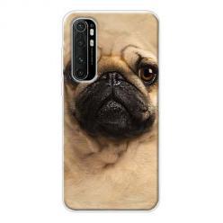 Etui na Xiaomi Mi Note 10 Lite - Pies Szczeniak face 3d