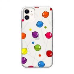 Etui na iPhone 12 - Kolorowe lizaki.