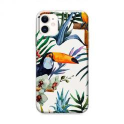 Etui na iPhone 12 - Egzotyczne tukany.