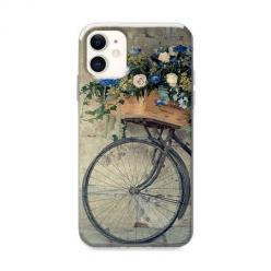 Etui na iPhone 12 Mini - Rower z kwiatami