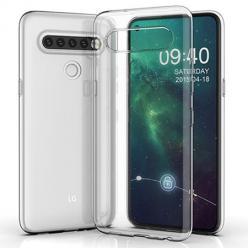 Etui na LG K61 silikonowe crystal case - bezbarwne.
