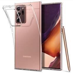 Etui na Samsung Note 20 Ultra silikonowe crystal case - bezbarwne.