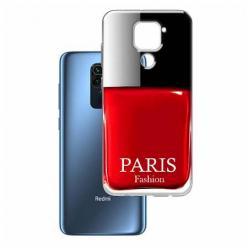 Etui na Xiaomi Redmi Note 9 - Czerwony lakier do paznokci