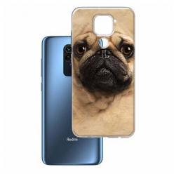 Etui na Xiaomi Redmi Note 9 - Pies Szczeniak face 3d