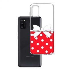 Etui na Samsung Galaxy A41 - Gustowna kokardka.
