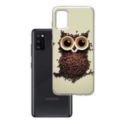 Etui na Samsung Galaxy A41 - Kawa sowa