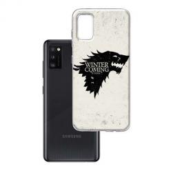 Etui na Samsung Galaxy A41 - Winter is coming Black