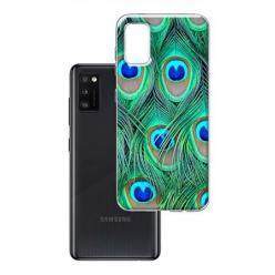 Etui na Samsung Galaxy A41 - Pawie Pióra
