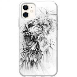 Etui na telefon Slim Case - Król lew rysunkowy