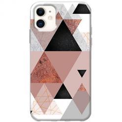 Etui na telefon Slim Case - Abstrakcyjne trójkąty
