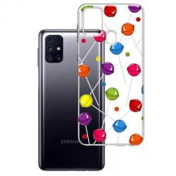 Etui na Samsung Galaxy M31s - Kolorowe lizaki.