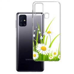 Etui na Samsung Galaxy M31s - Polne stokrotki.