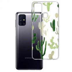 Etui na Samsung Galaxy M31s - Kaktusowy ogród.
