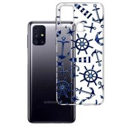 Etui na Samsung Galaxy M31s - Ahoj wilki morskie.