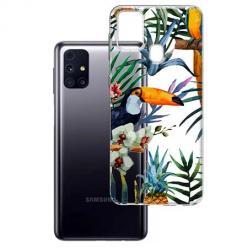 Etui na Samsung Galaxy M31s - Egzotyczne tukany.