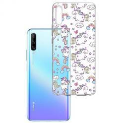 Etui na Huawei P Smart Pro 2019 - Tęczowe jednorożce.