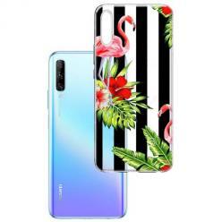 Etui na Huawei P Smart Pro 2019 - Opowieści flamingów.