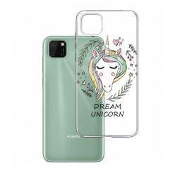 Etui na Huawei Y5P - Dream unicorn - Jednorożec.