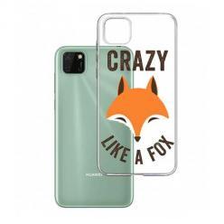 Etui na Huawei Y5P - Crazy like a fox.
