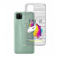 Etui na Huawei Y5P - Time to be unicorn - Jednorożec.