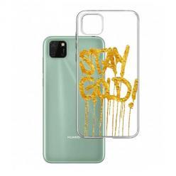 Etui na Huawei Y5P - Stay Gold.