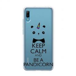 Etui na Huawei Y6 Pro 2019 - Keep Calm… Pandicorn.