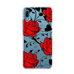 Etui na Huawei Y6 Pro 2019 - Czerwone róże.