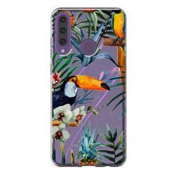 Etui na Huawei Y6P - Egzotyczne tukany.