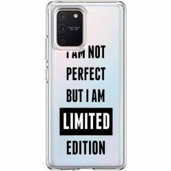 Etui na Samsung Galaxy S10 Lite - I Am not perfect…