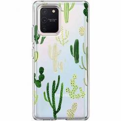 Etui na Samsung Galaxy S10 Lite - Kaktusowy ogród.