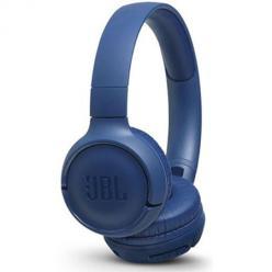 Nauszne słuchawki JBL bezprzewodowe Bluetooth - Niebieski.