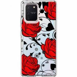 Etui na Samsung Galaxy S10 Lite - Czerwone róże.
