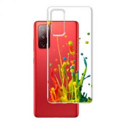 Etui na Samsung Galaxy S20 FE - Kolorowy splash.